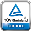 EVE System Certificated TÜV Reinland ISO 9001:2008